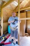 Hombre en el trabajo Imagen de archivo libre de regalías