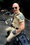 Hombre en la bici Fotos de archivo libres de regalías