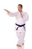 Karateka Foto de archivo libre de regalías