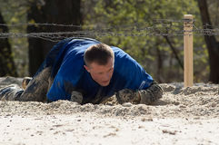 Hombre en lugar de la arena Foto de archivo