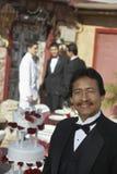 Hombre en Quinceanera Imagen de archivo libre de regalías