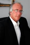 Hombre en suitcoat Foto de archivo