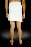 Hombre en toalla Fotografía de archivo libre de regalías