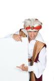 Hombre en traje de los genios Imagenes de archivo