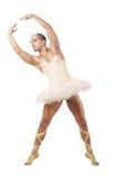 Hombre en tutú del ballet Fotos de archivo libres de regalías