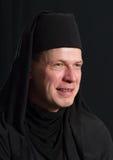 Hombre en un traje del monje Fotografía de archivo
