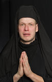 Hombre en un traje del monje Imagen de archivo