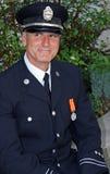 Hombre en uniforme Foto de archivo