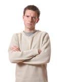 Hombre enfadado Imagenes de archivo