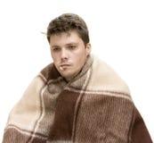 Hombre enfermo Fotografía de archivo libre de regalías