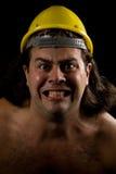 Hombre enojado Foto de archivo