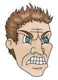Hombre enojado libre illustration