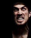 Hombre enojado Imagen de archivo libre de regalías