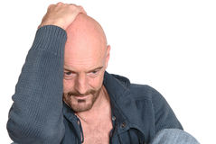 Hombre envejecido medio atractivo imágenes de archivo libres de regalías