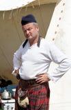 Hombre escocés Fotografía de archivo libre de regalías