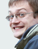 Hombre expresivo Imagen de archivo