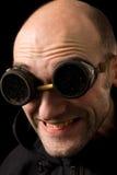 Hombre extraño divertido fotografía de archivo