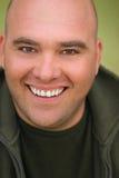 Hombre feliz Imagen de archivo libre de regalías