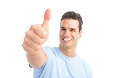 Hombre feliz Imágenes de archivo libres de regalías