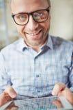 Hombre feliz Fotos de archivo