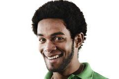 Hombre feliz del afroamericano Imagen de archivo
