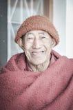 Hombre feliz en Arunachal Pradesh Fotografía de archivo
