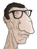 Hombre feo stock de ilustración