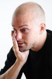 Hombre frustrado Imágenes de archivo libres de regalías