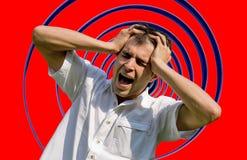 Hombre frustrado Fotografía de archivo libre de regalías