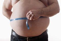Hombre gordo Foto de archivo