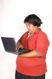 Hombre gordo Fotografía de archivo libre de regalías