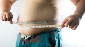 Hombre gordo fotos de archivo