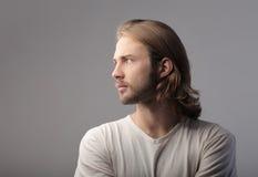 Hombre hermoso Fotos de archivo libres de regalías