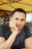 Hombre hermoso adulto joven Imagen de archivo libre de regalías