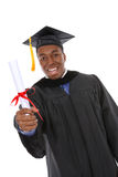 Hombre hermoso de la graduación Fotografía de archivo libre de regalías