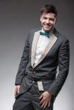Hombre hermoso en traje formal Imagen de archivo