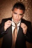 Hombre hispánico Foto de archivo