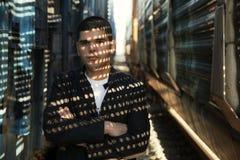 Hombre hispánico joven Fotografía de archivo libre de regalías