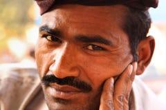 Hombre indio Foto de archivo libre de regalías