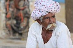 Hombre indio Fotografía de archivo