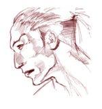 Hombre indio stock de ilustración