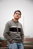 Hombre indio hermoso Fotografía de archivo