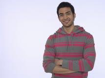 Hombre indio joven sonriente fotografía de archivo