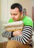 Hombre infeliz Imagen de archivo libre de regalías