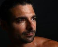 Hombre italiano hermoso Fotografía de archivo libre de regalías