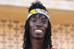 Hombre jamaicano Foto de archivo libre de regalías