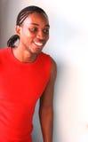 Hombre jamaicano feliz Fotografía de archivo