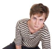 Hombre joven aburrido Fotos de archivo
