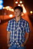 Hombre joven chino solo Fotos de archivo libres de regalías