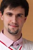 Hombre joven con la barba Fotos de archivo libres de regalías